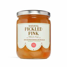 Pickled Pink Spiced Watermelon Pickles 16oz