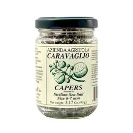 Caravaglio Capers from Salina Capers in Sea Salt 3.17oz