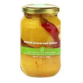 Les Moulins Mahjoub Natural Preserved Organic Lemons 200gr