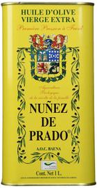 Nunez De Prado Organic Extra Virgin Olive Oil 1 Liter Tins