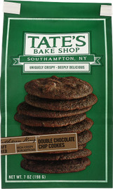 Tate's Double Chocolate Chocolate Chip Cookies 7oz bags