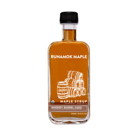 Runamok Whiskey Barrel-Aged Maple Syrup 250ml