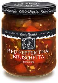 Sable & Rosenfeld Red Pepper Thai Bruschetta 16oz