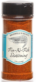 Braswell's Fin-N-Fish Seasoning 5.25oz