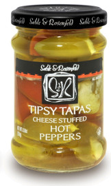Sable & Rosenfeld Tipsy Tapas-Hot Peppers 8.8oz