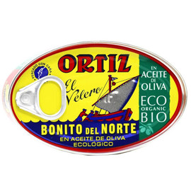 Ortiz Yellowfin Tuna in Organic Extra Virgin Olive Oil 3.9 oz