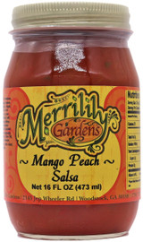 Merrilily Gardens Mango Peach Salsa 16 oz