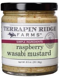 Terrapin Ridge Raspberry Wasabi Dipping Mustard 12oz