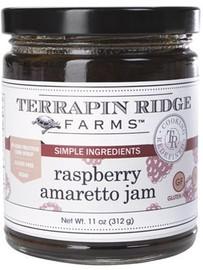 Terrapin Ridge Raspberry Amaretto Jam 12 oz