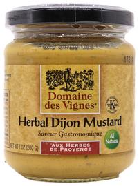 Domaine des Vignes Herbal Dijon Mustard 7oz