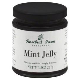 Rosebud Mint Jelly 8 oz