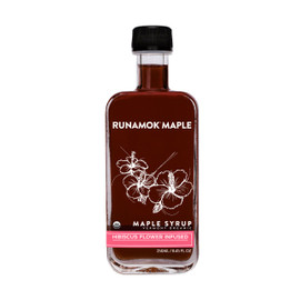 Runamok Hibiscus Flower Infused Maple Syrup 250ml