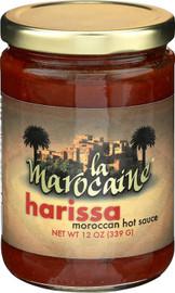 La Maroccaine Harrisa Moroccan Hot Sauce 12oz