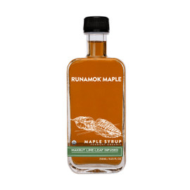 Runamok Makrut Lime-Leaf Infused Maple Syrup 250ml