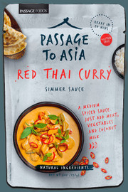 Passage Foods Red Thai Curry Simmer Sauce 7oz
