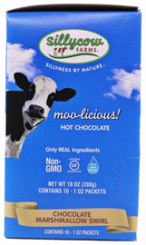 Silly Cow Farm-Individual Foil Packets-Marshmellow Swirl 8-10 Ct/1oz