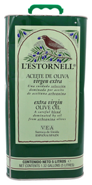 L'Estornell Extra Virgin Olive Oil 5.0 Liter Tin
