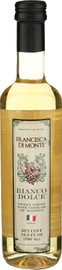 Francesca di Monte Sweet White Wine Vinegar 16.9oz