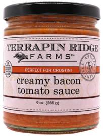 Terrapin Ridge Creamy Bacon Tomato Sauce 8 oz