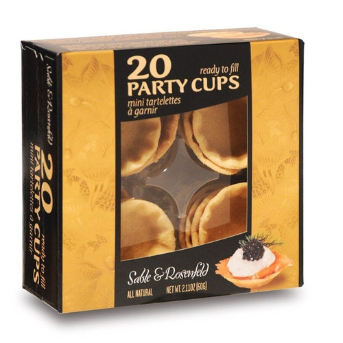 Sable & Rosenfeld Party Cups 20 cups