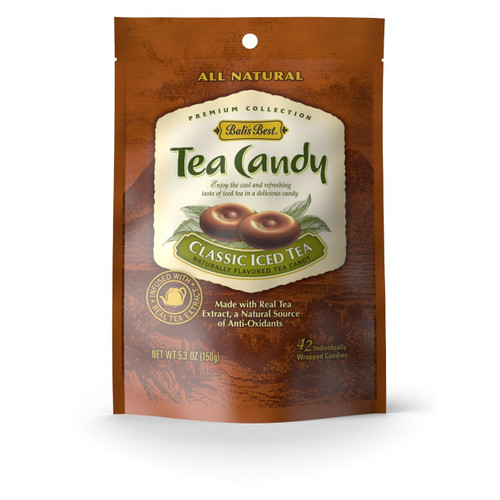 Bali's Best Classic Iced Tea Candy 100% Natural 5.3oz