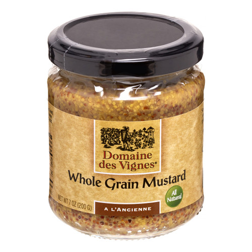 Domaine des Vignes Whole Grain Mustard 7oz
