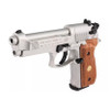 Umarex Beretta 92F Nickel Wood Grips