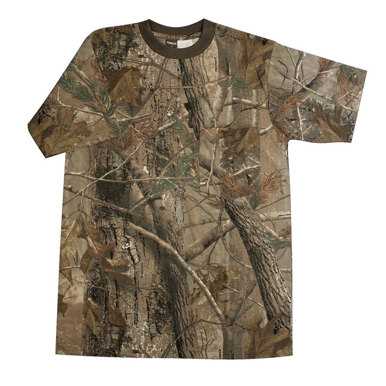 Best price for Camourflage Short Sleeve T Shirt, Available in Realtree APG and AP, on sale from Bradford Stalker