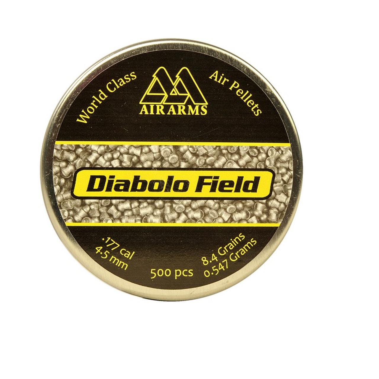 Best price for Air Arms Diablo Field .22 Pellets, on sale at Bradford Stalker