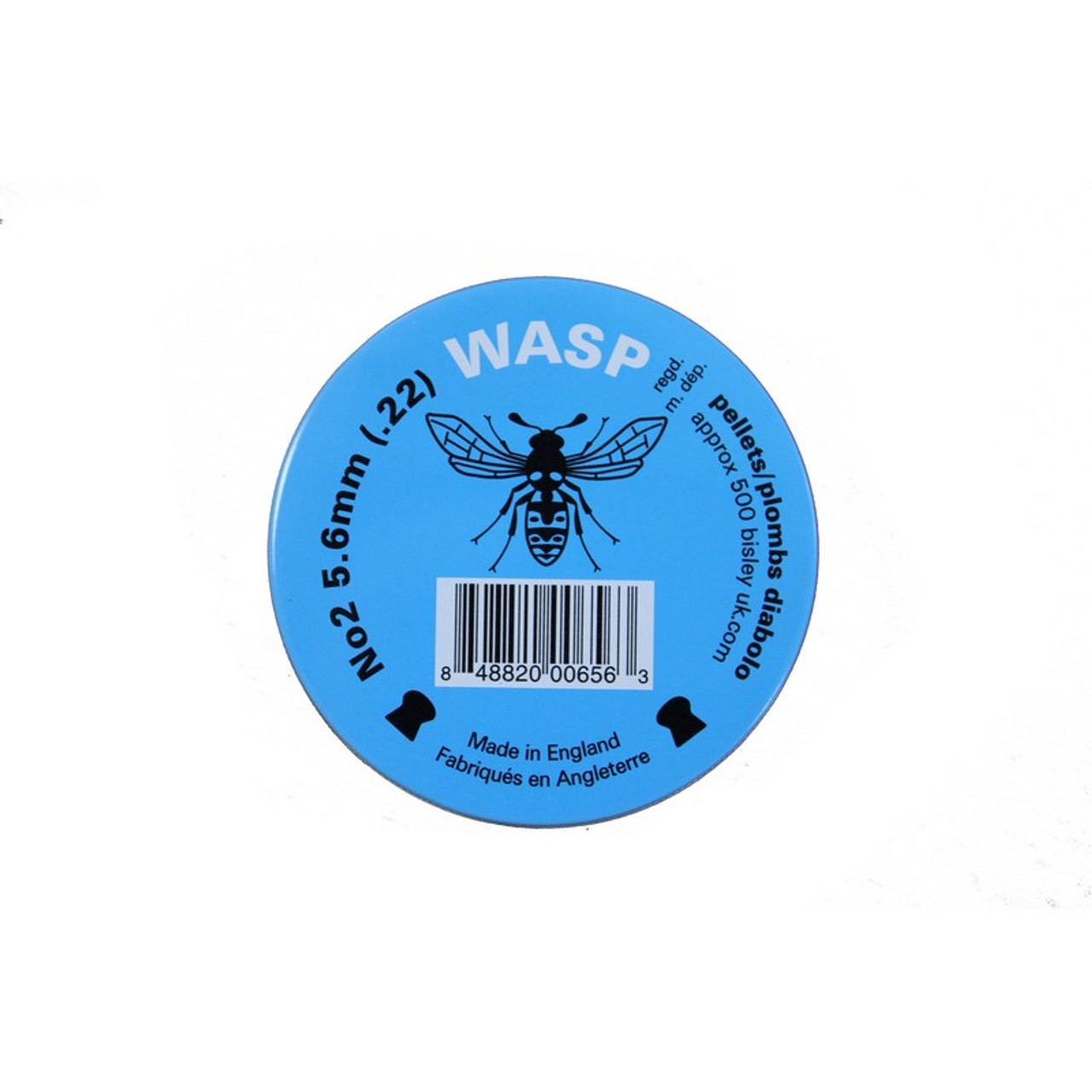 Best price for Wasp .22 Pellets Blue Tin