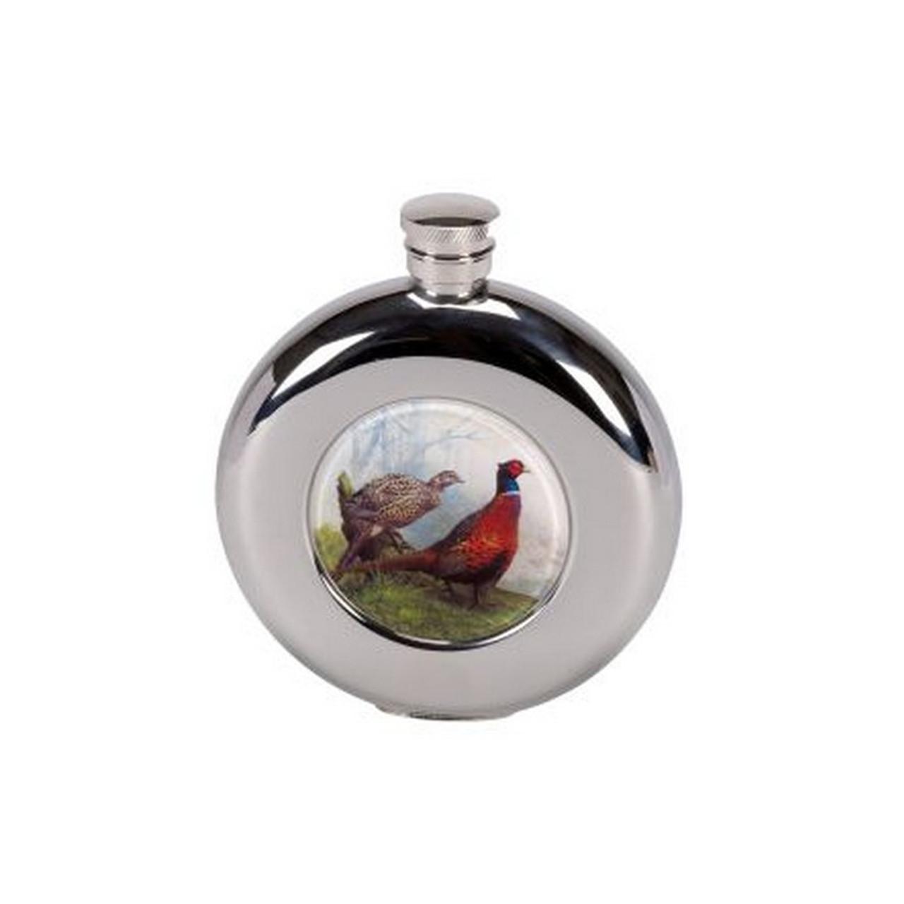pheasant flask, Gift