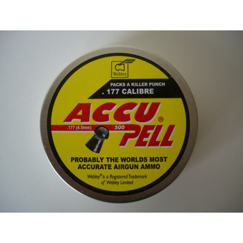 Best price for Webley Accupell .22 Pellets, on sale at Bradford Stalker