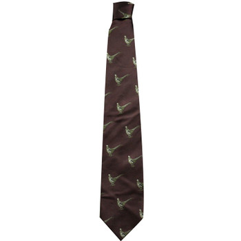 Best price for Silk Pheasant Tie Burgundy, on sale at Bradford Stalker