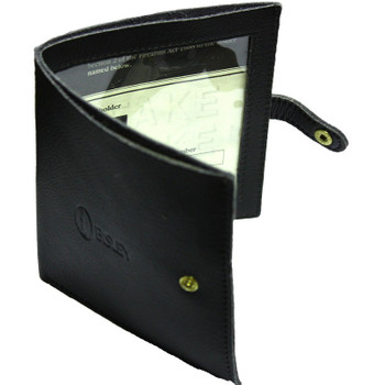 Leather Certificate Wallet
