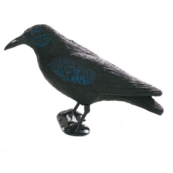 Crow Decoy with Legs