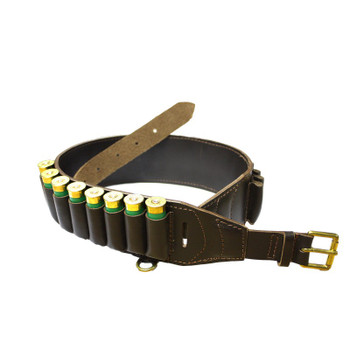 Deluxe Leather Cartridge Belt 12G