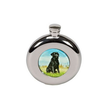Labrador hip flask, Gift