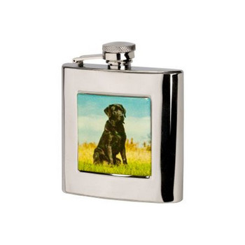 Labrador flask 6oz, Gift