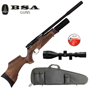 BSA R10SE Standard Length Walnut Package