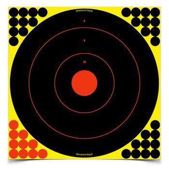 "Birchwood Casey Shoot N C  Reactive Targets 17.25"" 12 Pack"