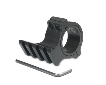 Nightmaster Scope Ring with Rail for Adding a Rail to Your Rifle Scope
