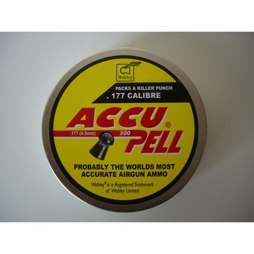 Best price for Webley Accupell .177 Pellets, on sale at Bradford Stalker