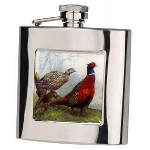 pheasant flask 6oz, Gift