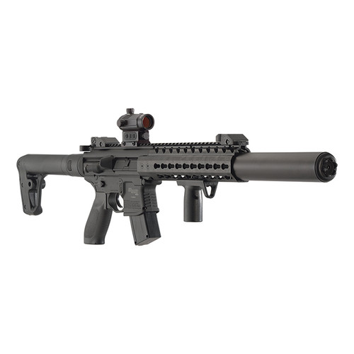 Sig Sauer MCX Air Rifle Black  .177 Pellet inc Red Dot