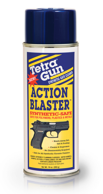Tetra gun action blaster synthetic safe degreaser