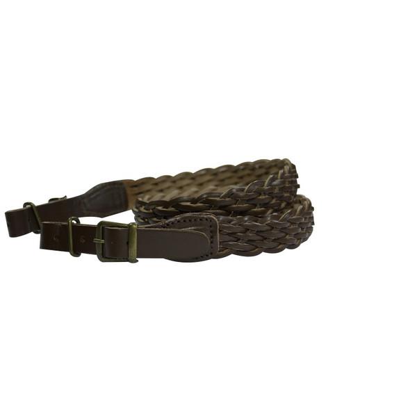 Plaited Leather Rifle Sling