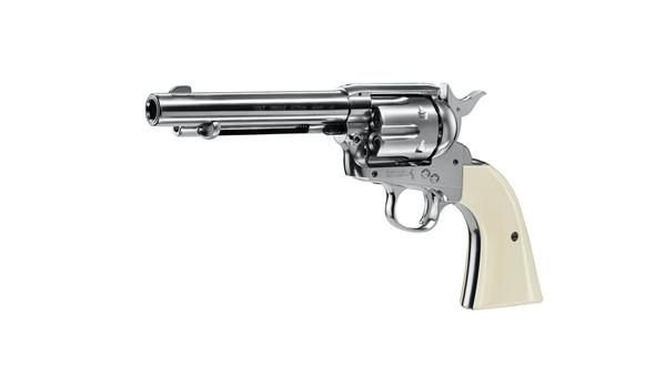 """Umarex Colt SAA .45 Peacemaker 5.5"""" Nickel"""