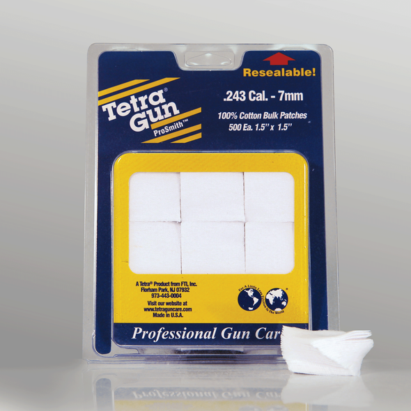Tetra Pro Cleaning Patches .243 (500)