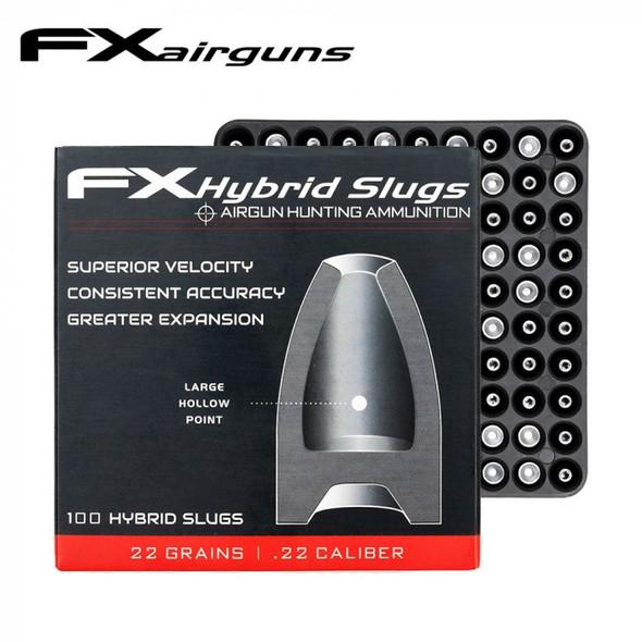 FX Hybrid Slug .22 22grains  x100