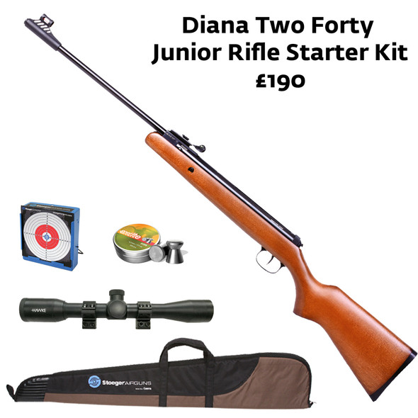 Diana Two Forty Junior Air Rifle .177 Starter kit
